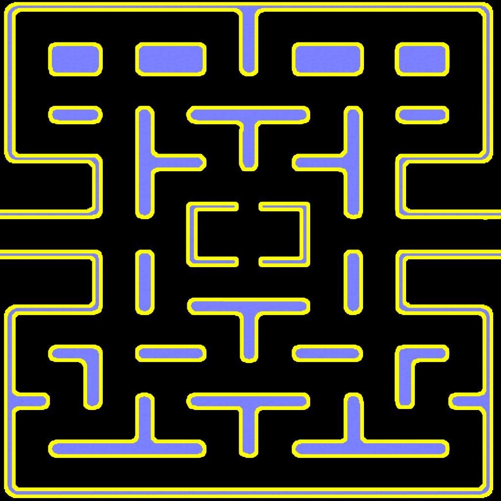 Pacman Map | My Blog